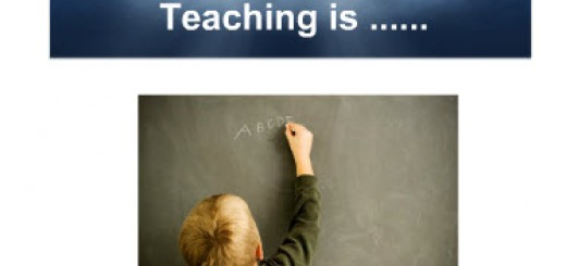 teaching is
