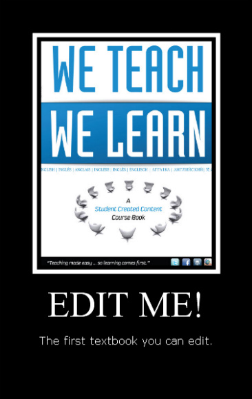 Teach Learn poster