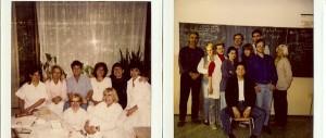 Teaching in Karlovy Vary, C.R. - early 90's