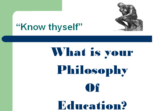 philosophy of education quiz