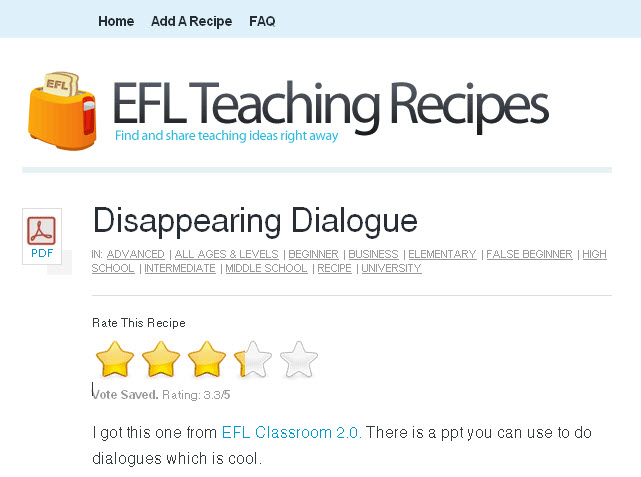 teaching-recipes
